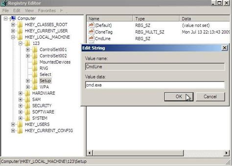 Reset Windows Vista Password Using Regedit | how to reset your windows password in regedit at boot in