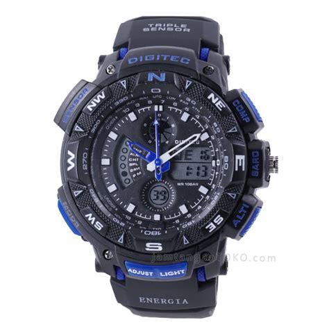 Digitec Dg 2074t Blue Black harga sarap jam tangan digitec energia dg 2044t hitam biru