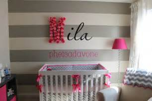 Grey And Pink Nursery Decor Most Viewed Nurseries Of 2012
