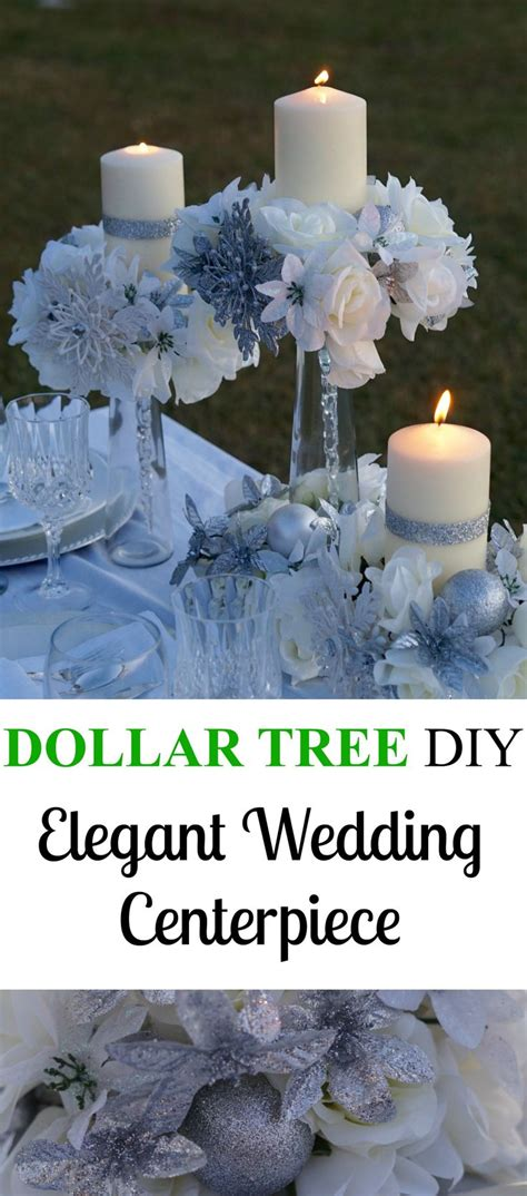 best 25 dollar tree centerpieces ideas on