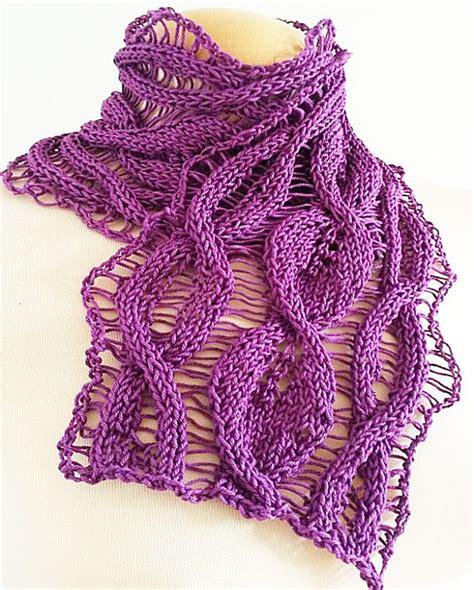 leaf pattern neckwear items similar to giezen pdf pattern cotton scarf tulip