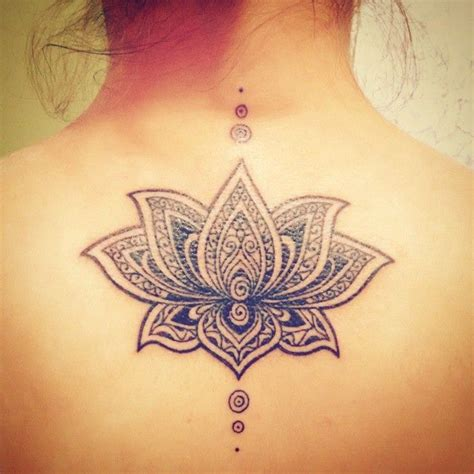 tattoo lotus geometric mandala lotus geometric tattoo tatoo pinterest
