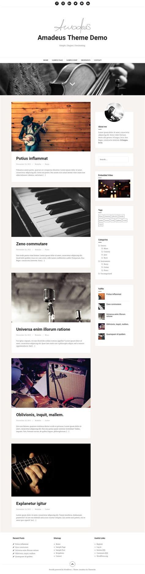 theme lovecraft blog 40 theme wordpress gratis untuk blog modern