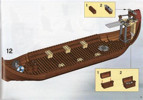 lego viking boat instructions instructions for 7018 1 viking ship challenges the