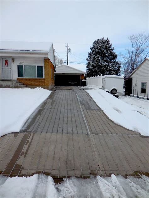 heated concrete patio 59 best images about snow melting and heated driveways on