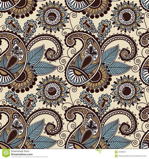 paisley pattern vintage royalty free vector image vintage floral seamless paisley pattern stock vector image 45063837