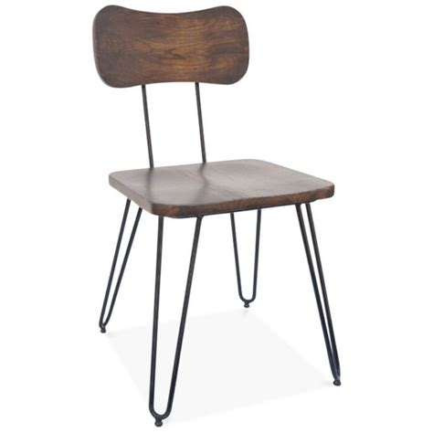 Hairpin Leg Chair by Cult Living Susa Chair With Hairpin Legs Black Hairpin