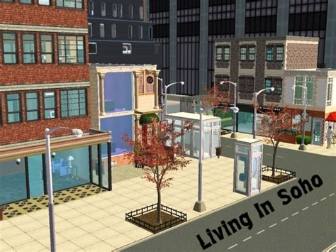 Sims 2 Apartment Zoning Mod The Sims Soho Downtown Maxis Objects Onlyno Custom