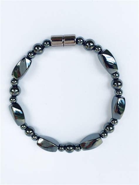 magnetic hematite bracelet mhb 06 syntropy zone