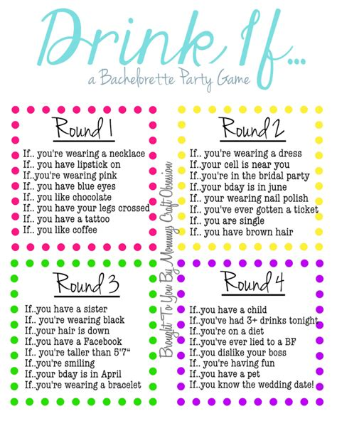 printable games to play at home from wild to sober 10 bachelorette party games to have