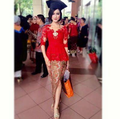 Rok Span Prada Maroon by Model Kebaya Modern Elegan Merah Kebayamodern Kebaya