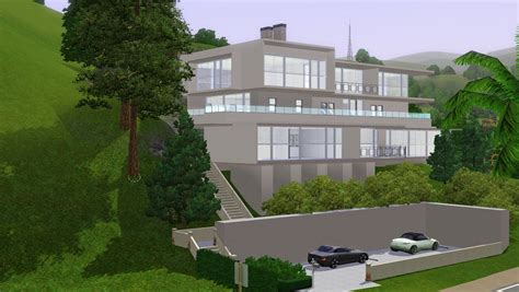 sims 3 house designs modern sims 3 modern house joy studio design gallery best design