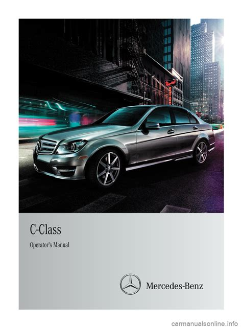 online service manuals 2000 mercedes benz s class parking system mercedes benz c class sedan 2012 w204 owner s manual