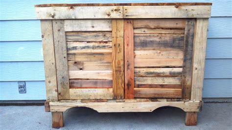 Pallet Cabinet by Pallet Cabinet By Travislucia Lumberjocks
