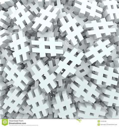 pound number hash tag number pound symbol message background stock photo image 31478190