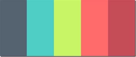 Modern Color Scheme by Dise 241 O 60 Paletas De Colores Interesantes Taringa