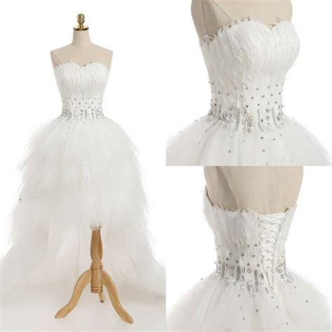Lq 00 1577 Sexyback Lace Freesize 1 retro 2018 wedding dress with feathers real sle sweetheart sleeveless hi