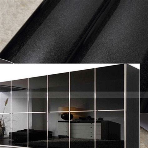 removable contact paper for cabinets yazi black contact paper self adhesive removable cupboard