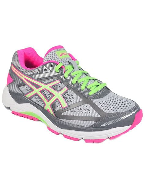 sport shoes asics asics gray sports shoes price in india buy asics gray