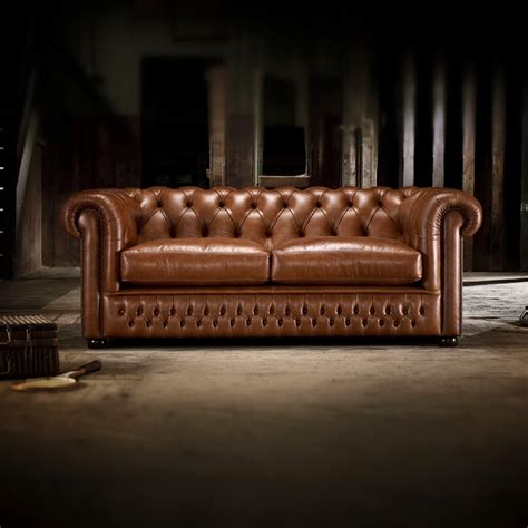 chesterfield leather sofa bed knightsbridge 3 seater sofa from timeless chesterfields uk