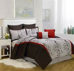 piece king brookfield embroidered comforter set king