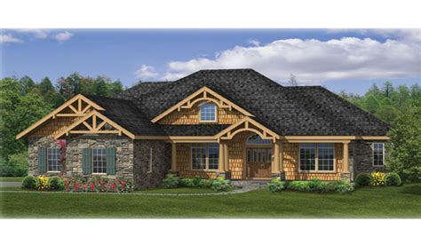 Ranch Craftsman House Plans | craftsman ranch house plans best craftsman house plans 5