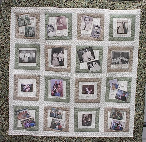 Memory Quilts Patterns by Maggie S Top Stitch Quilting Custome Created Quilts And
