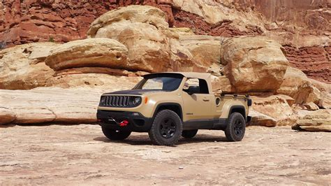 jeep moab truck 2016 easter jeep safari concept trucks test drives with photos