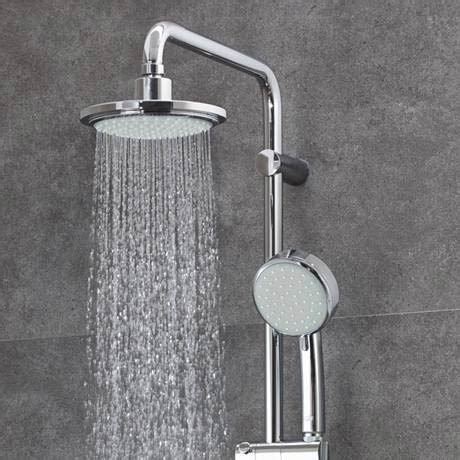 Grohe Shower Set New Tempesta 200 With Shower 27389000 grohe new tempesta cosmopolitan 160 thermostatic shower system 27922000 shower systems