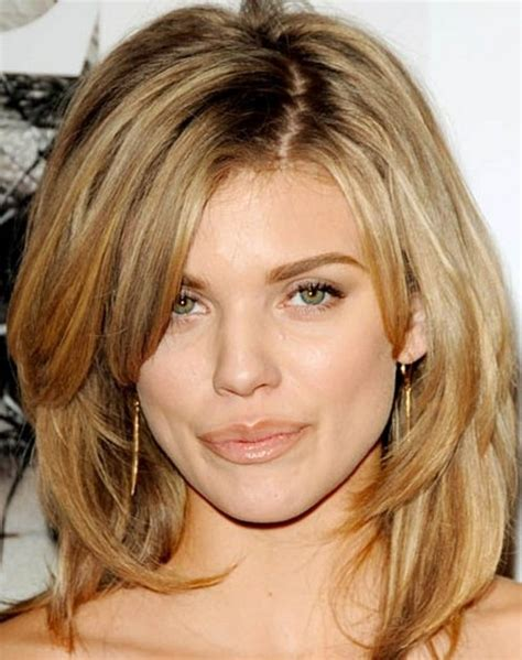 Layered Hairstyles For Thick Hair by Hairstyles For Shoulder Length Thick Hair Immodell Net