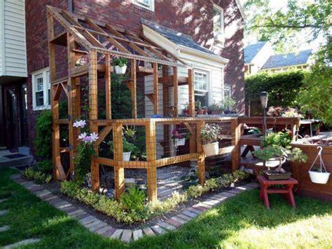 screened in cat cage porch cat enclosures pinterest
