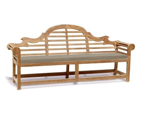 extra large bench cushions lutyens bench cushion extra large