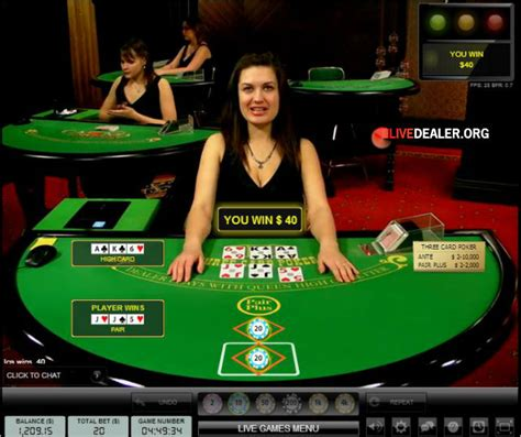 live poker room what is the live poker room of your dreams playing live 3 card poker