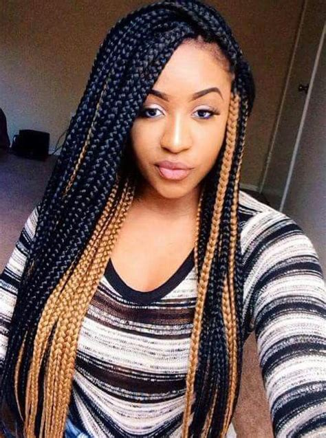what kind of braids shoyld a darkskin get and color box braids african hair box braids box braids african