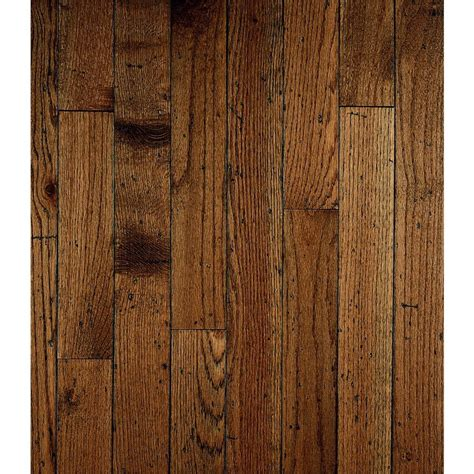 Plank Hardwood Flooring Bruce Ellington Plank 3 25 In W Prefinished Antique Oak Hardwood Flooring Lowe S Canada