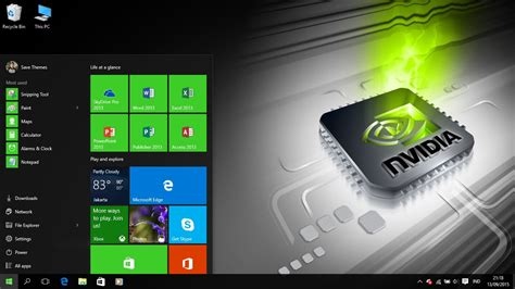 engineering themes for windows 10 nvidia theme for windows 7 8 and 10 save themes