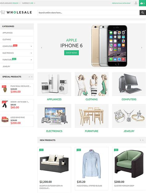 warehouse layout for ecommerce 5 new templates for wholesale businesses ecommerce design