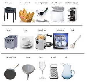 Kitchen Items With Pictures Kitchen Worksheets Engleza La Grădi