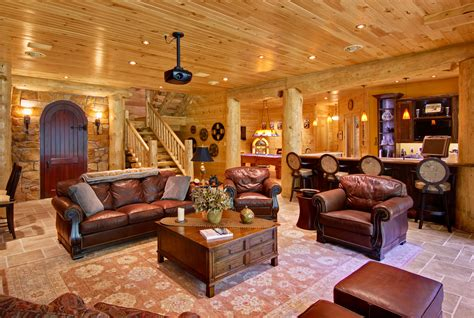 cabin open floor plans
