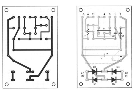 layout pcb power supply variable power supply with ua78g ua79g