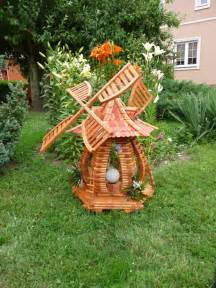 Decorative Backyard Windmill Lamp Garden Artisans