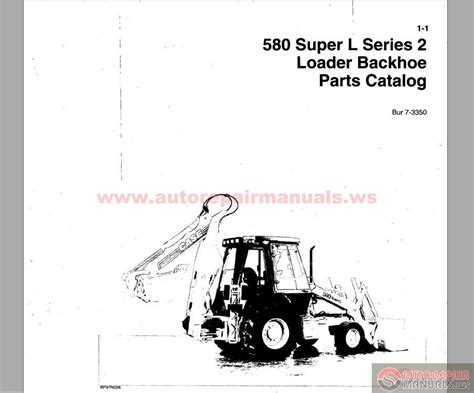 L Parts by Backhoe Loader 580 L Series 2 Parts Catalog