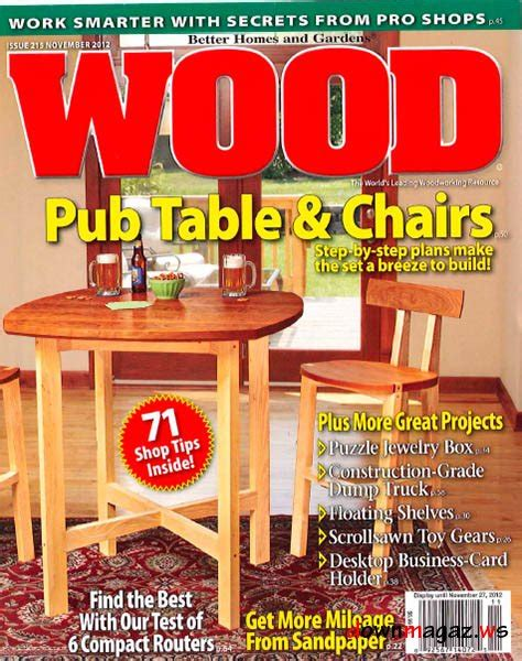 wood pattern magazines wood magazine 215 187 download pdf magazines magazines
