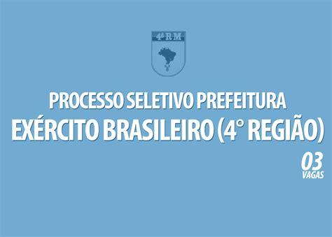 processo seletivo exrcito 2016 edital processo seletivo do ex 233 rcito brasileiro 4 176 regi 227 o