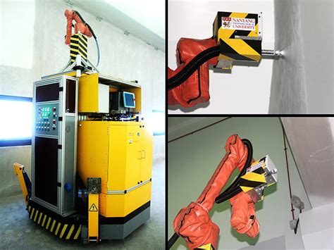 robotic wall gcr innovation spray painting robot makes painters