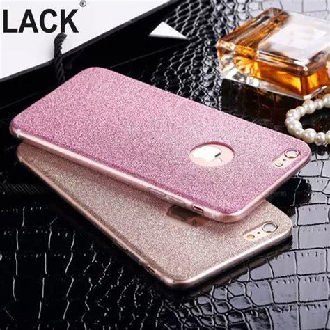 Casing Hp Iphone 6 6s Bling Glitter Cover aliexpress buy i6 6s ultrathin glitter bling back skin cover for iphone soft gel