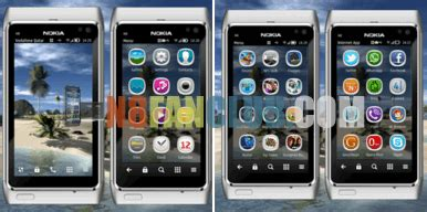 themes hd nokia n8 hd island theme for nokia n8 other belle smartphones