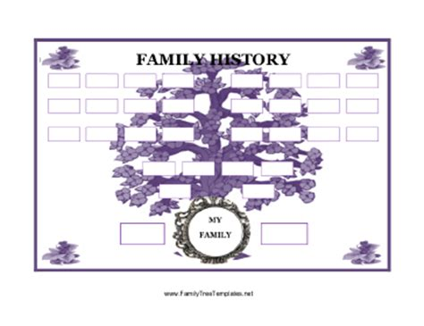 history templates for blogger family trees for reunions school and fun