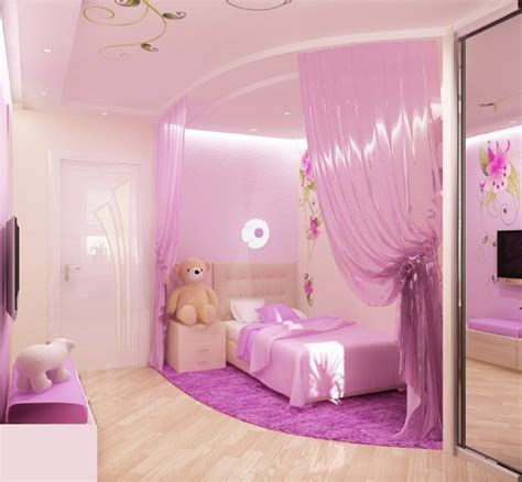 pink bedroom design for a princess kidsomania