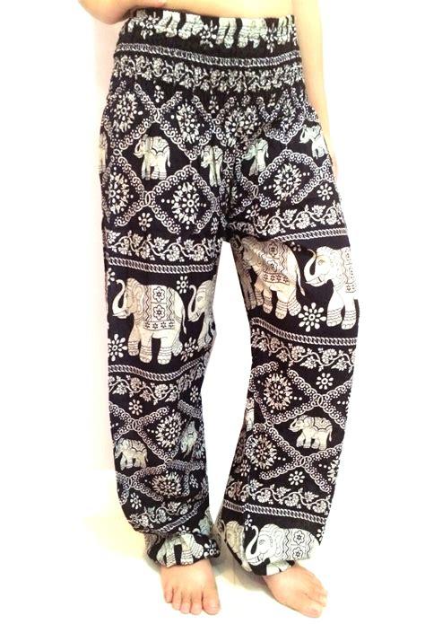 Pant Thai harem elephant thailand bangkok trouser hippie buy harem jaipur print